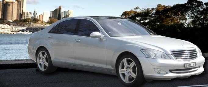 Chauffeur Driven Mercedes Benz Limousines, Convertibles, & Sedans